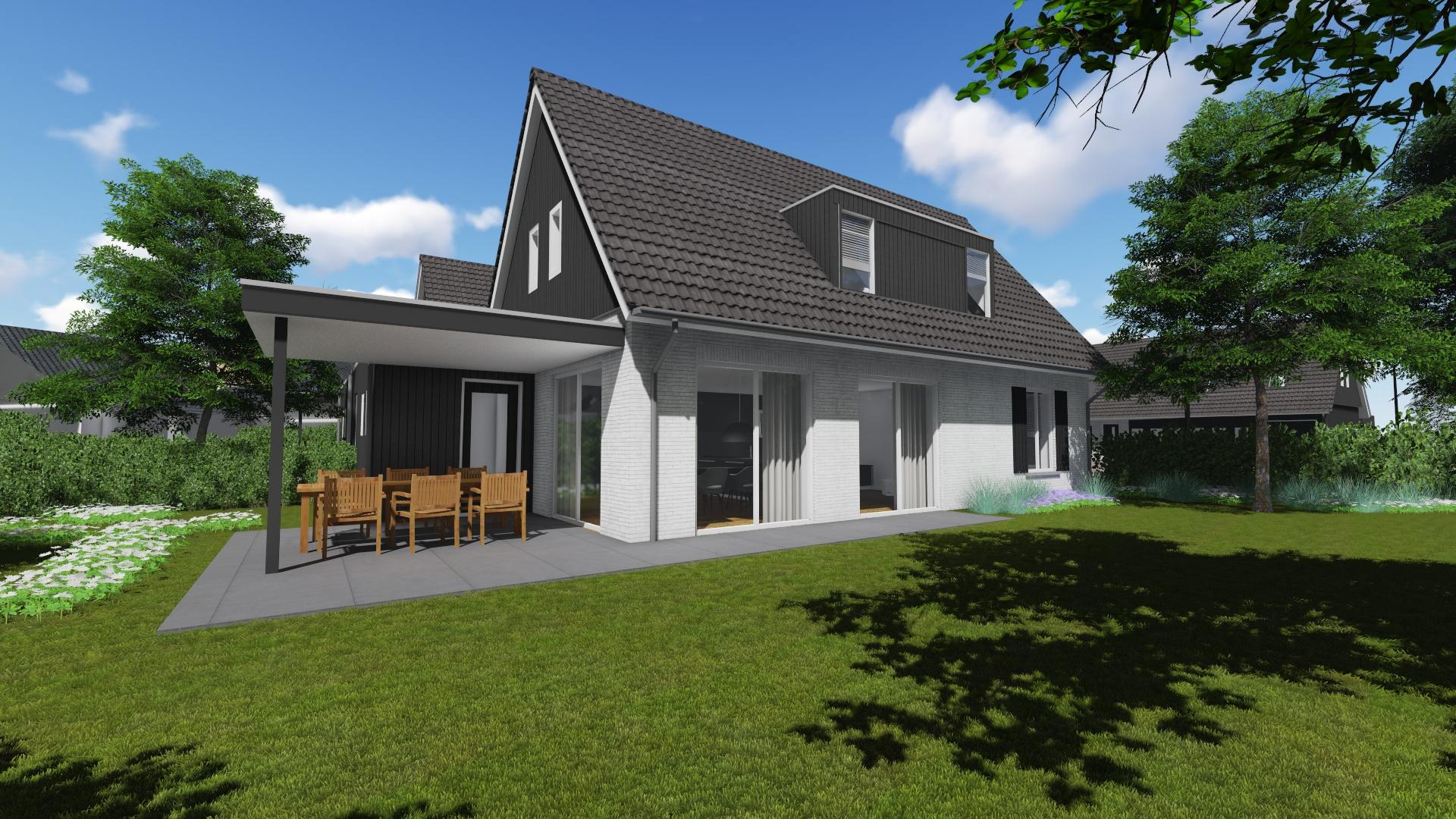 Woonerf Ede Tenback de Groof architect Nuenen