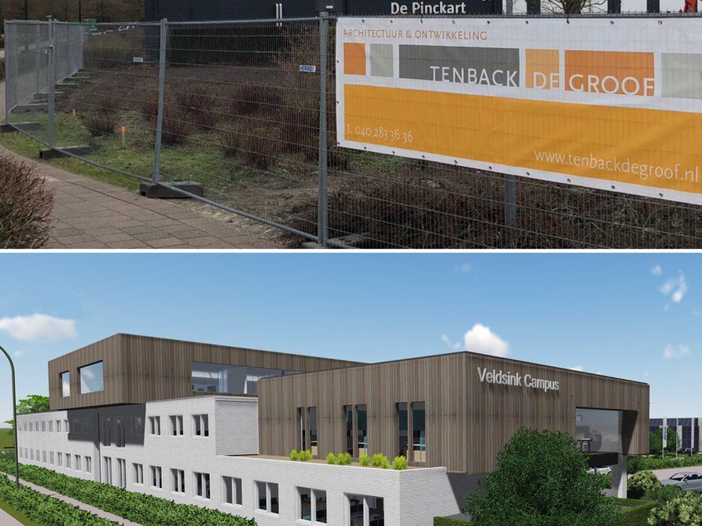 Bouwbord Veldsink Campus | TbdG
