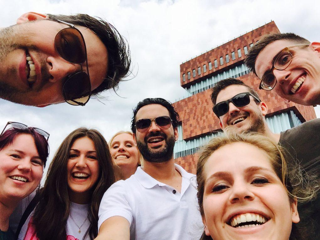 Bureau excursie Antwerpen 2017 | TbdG | STRK