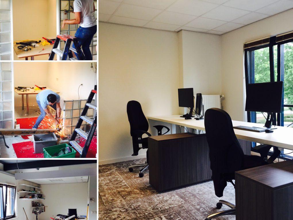 Verbouwing Studio | TbdG | STRK