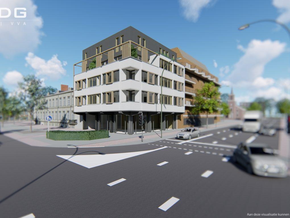 Start bouw 15 citylofts centrum Helmond