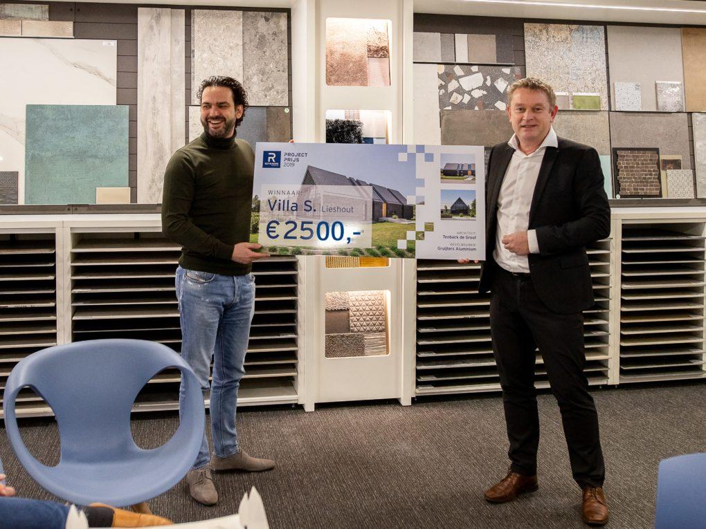 Uitreiking Reynaers project prijs 2019 – 2020